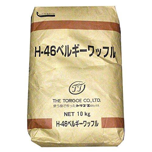 ミックス粉 ベルギーワッフルミックス 鳥越製粉 業務用 10kg