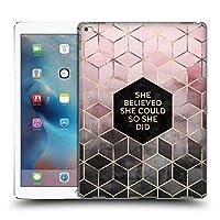 オフィシャルElisabeth Fredriksson Believe 2 タイポグラフィ iPad Pro 12.9 (2015) 専用ハードバックケース