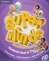 Super Minds American English Level 6 Student's Book with DVD-ROM
