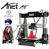 Anet® A8 3D Printer Acrylic LCD Screen Printing Size 220 x 220 x 240mm DIY High Precision Self Assembly