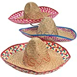 EMBROIDERED SOMBRERO (ADULT SIZE) (1 DOZEN) - BULK by Fun Express