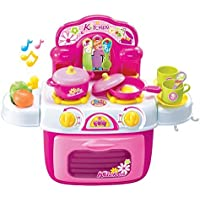 Berry Toys My First Portable Kitchen Play Set with Handle [並行輸入品]