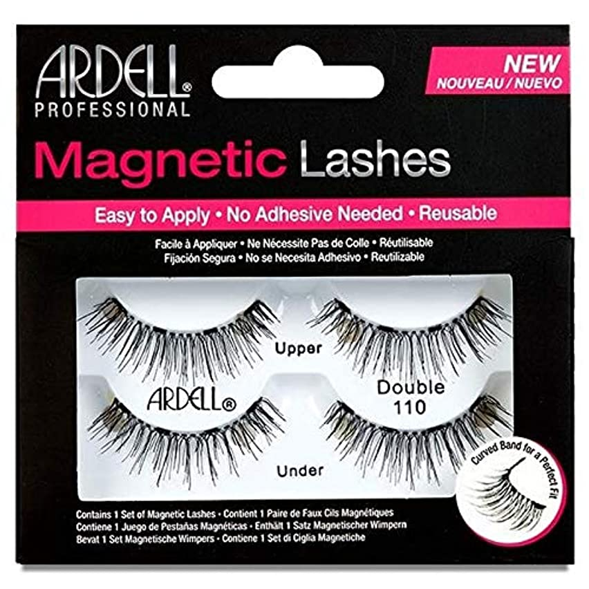 ようこそオープナー期待[Ardell] 110ダブルArdell磁気まつげ - Ardell Magnetic Eyelashes Double 110 [並行輸入品]
