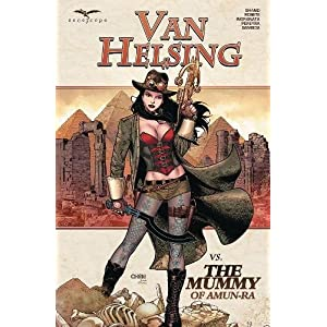 Van Helsing Vs. the Mummy of Amun-Ra