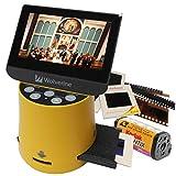 Wolverine フィルムスキャナー デジタルコンバーター TITAN 8イン1 高解像度 4.3インチスクリーン&HDMI 35mm 127フィルム/126フィルム/110フィルム/Advantix/APSスライド/ネガを3秒でデジタル変換