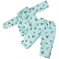 Fenteer 18インチアメリカンガールドール対応 かわいい 人形 寝間着 パジャマ 服