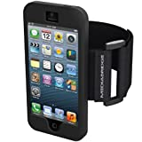 iPhone 4 / 4S 腕 Armband アームバンド ケース カバー ブラック 保護フィルム付き ジム - Best Reviews Guide