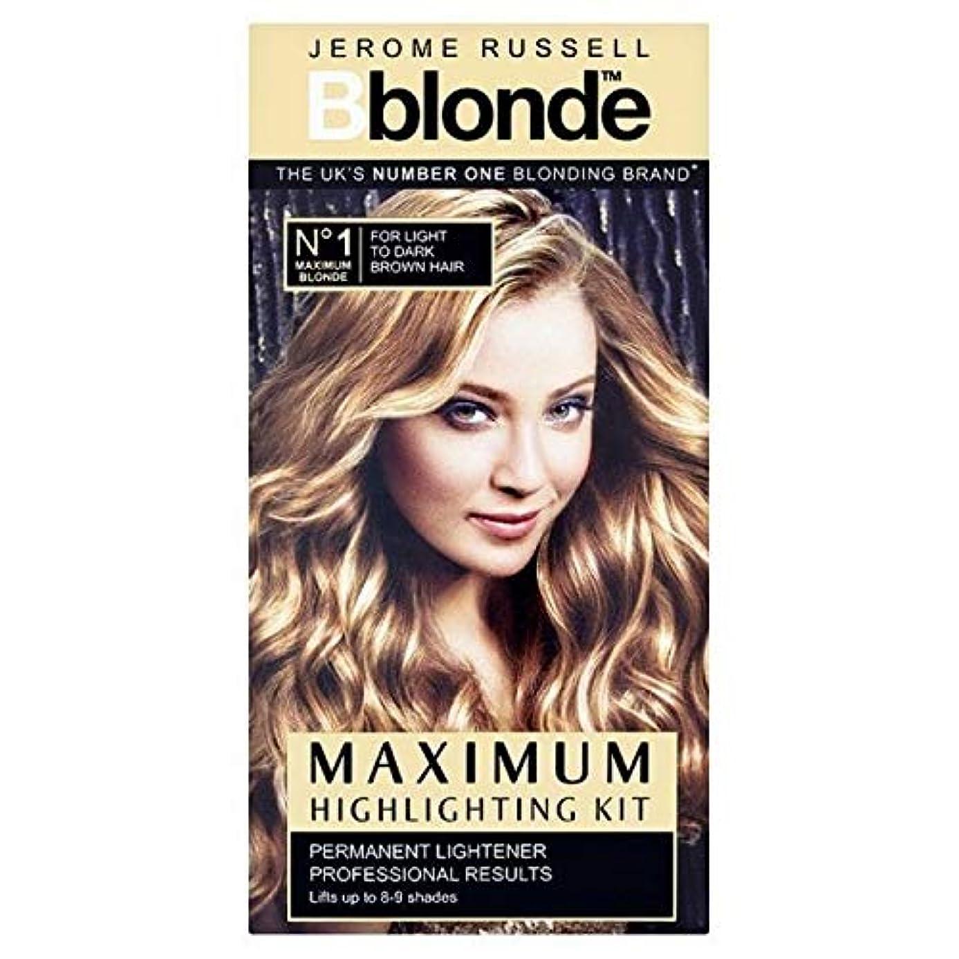 人気のトリッキー代名詞[B Blonde] ジェロームラッセルBblonde強調するキットライトナー - Jerome Russell Bblonde Highlighting Kit Lightner [並行輸入品]