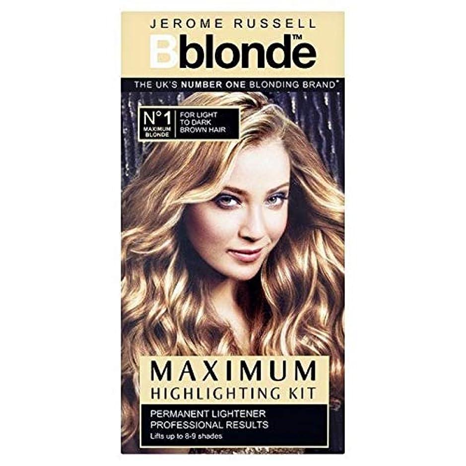 普通の知事暫定の[B Blonde] ジェロームラッセルBblonde強調するキットライトナー - Jerome Russell Bblonde Highlighting Kit Lightner [並行輸入品]