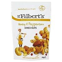 (Mr Filbert's (ミスターハシバミさん)) ミスターFilberts蜂蜜&ペッパーミックスナッツ50グラム (x6) - Mr Filberts Honey & Peppercorn Mixed Nuts 50g (Pack of 6) [並行輸入品]