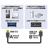 サンワサプライ USB3.0マイクロケーブル(A-MicroB) 1m ブラック KU30-AMC10BK 画像