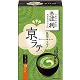 片岡物産 辻利 京ラテ 抹茶&ミルク 10本入