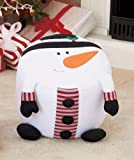 おもちゃ Snowman Inflatable Holiday Stool With Pump [並行輸入品]