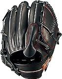 ZETT(ゼット) 硬式野球 ネオステイタス グラブ (グローブ) ピッチャー用 ブラックR(1900R) 右投げ用 日本製 BPGB12911