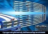 ステンレススチールegrilleビレットグリルグリルfor 94–01ダッジRamピックアップ挿入