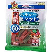 (まとめ買い)ドギーマン ヘルシーソフトベジタブルジャーキー 420g 犬用 【×12】