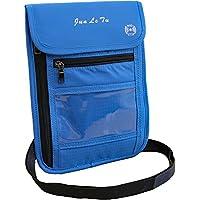 MYUM パスポートケース 首下げ スキミング防止 6色 カラフル 防水 5つのポケットが便利