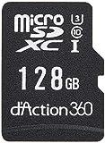 カーメイト ドライブレコーダー アクションカメラ 360度カメラ ダクション 360S 前後 左右 撮影 全天周モデル スマホ連携 128GB microSD DC5