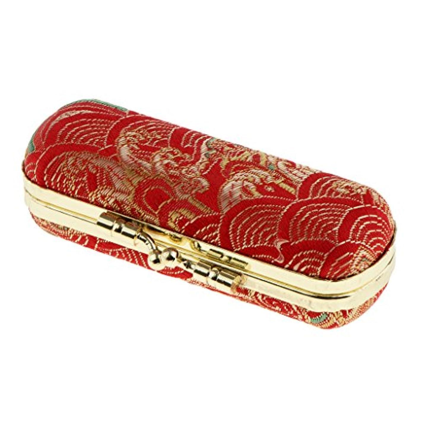 説教する小川鏡Homyl 口紅 収納ボックス リップグロスケース 口紅ホルダー ミラー付き ランダム色     - #2