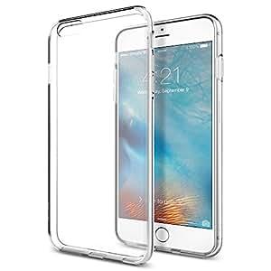 【Spigen】 iPhone6s Plus ケース / iPhone6 Plus ケース, リキッド・クリスタル [ ソフト TPU クリア] アイフォン6s プラス / 6 プラス 用 カバー (クリスタル SGP11642)