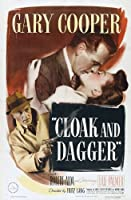 Cloak and Dagger映画ポスター27x 40インチ–69cm x 102cm ( 1946年)–( Gary Cooper ) ( Lilli Palmer ) (ロバート・Alda ) ( Vladimir Sokoloff ) ( J・エドワード・Bromberg )