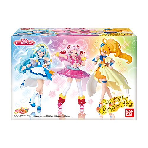 HUG! and! pretty cure Cutie figure Special Set meal toys / gum (HUG! and! precure)