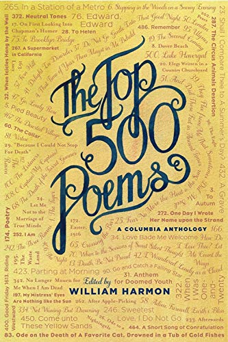 Download The Top 500 Poems (Columbia Anthologies) 023108028X