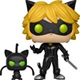 可愛い フィギュアFUNKO POP Miraculous Cat Noir Plagg SOFT VINYL ACTION FIGURE NEW [並行輸入品]