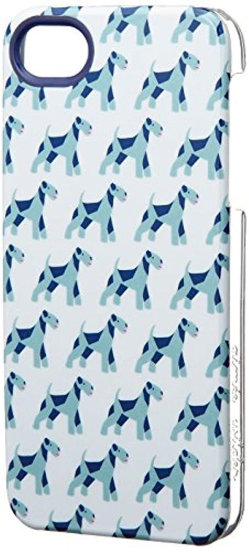 形成土地痛みiwave iPhone 5/5s専用 Aimee Wilder Protective Case Airedale Terrier Blue ICP5054-AB