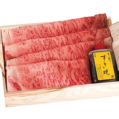 お歳暮 ギフト 御祝 すき焼き サーロイン A5 320g 常陸牛 すきやきセット 木箱入り 内祝い 出産 結婚