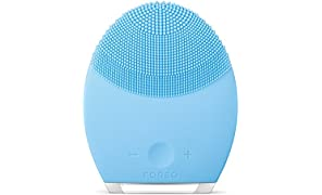 FOREO Luna 2 Facial Brush and Anti-Aging Face Massager for Combination Skin, 340g