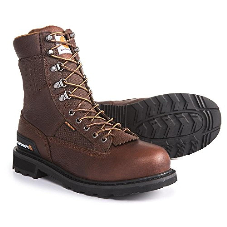(カーハート) Carhartt メンズ シューズ?靴 ブーツ 8 Low Logger Work Boots - Waterproof, Leather [並行輸入品]