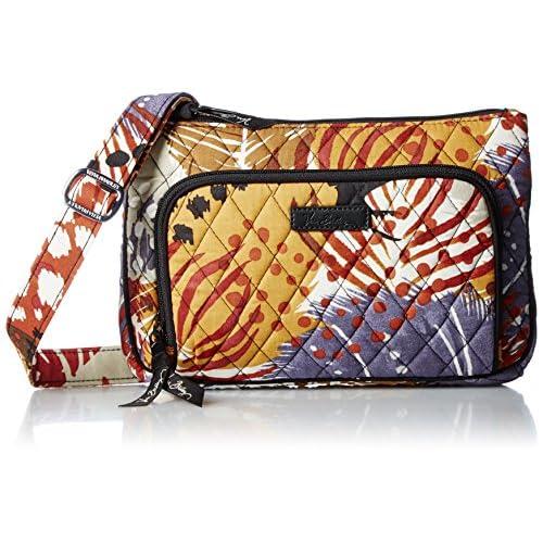 [ヴェラ・ブラッドリー] [アマゾン公式] 長財布も入るななめがけバッグ リトル・ヒップスター 67161357101 195 C195 Painted Feathers