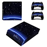 Consoles Ps4 Best Deals - Zhhlinyuan Full Body スキンステッカー Vinyl Decal Cover for PlayStatio PS4 Pro Console+Controllers