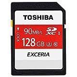 東芝 SDXC カード 128GB TOSHIBA 超高速 Class10 UHS-I U3 4K録画対応 【3年保証】 [並行輸入品]