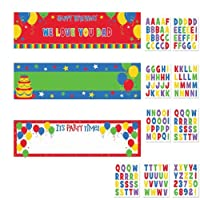 Balloon Fun Customized Giant Sign Banners Kit Party Accessory [並行輸入品]