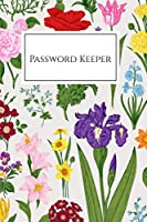 Password Keeper: Internet Password Book with Tabs, Password Organizer Large Print, Password Logbook Small 6 x 9