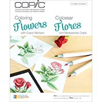 Copic Marker Books, Coloring Flowers [並行輸入品]