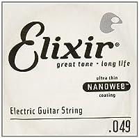 ELIXIR 15249/049弦×4本 エリクサーナノウェブバラ弦