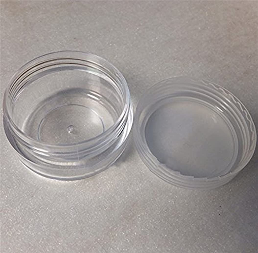 ライオン他に実施するLautechco 旅行用 化粧品 小分け容器 クリームケース 詰め替え容器  透明 10g 50本セット