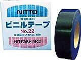 日東 屋外用ビニールテープNo.22 0.2mm×19mm×10m 2219