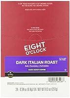 Eight O'Clock Coffee Dark Italian Roast K-Cups - 24 ct by Eight O'Clock Coffee
