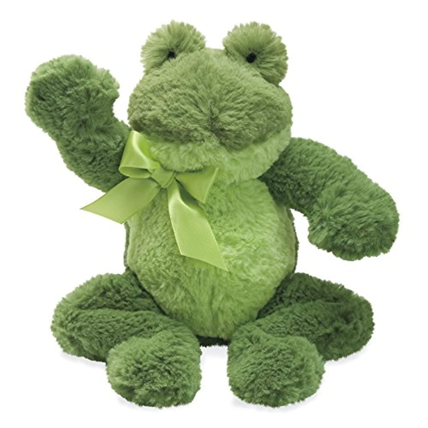 North American Bear Company Mammas and Babies Rattle, Frog by North American Bear