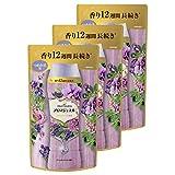 【まとめ買い】 レノアハピネス アロマジュエル ビーズ 衣類の香りづけ専用 ラベンダーブーケの香り 詰め替え 455mL × 3個