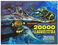 海底二万海ポスター映画B 11x 14ジェームズ・メイソンKirk Douglasピーター・ローレポール・ルーカス Unframed 431369