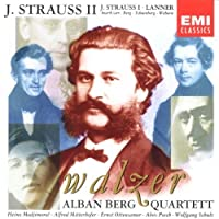 Strauss & Lanner Waltzes - performed by the Alban Berg Quartet by Alban Berg Quartet (2003-12-05)