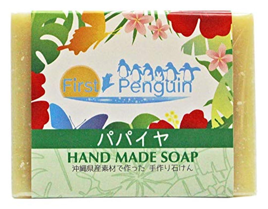 ジャグリング適応的適応的手作り洗顔石けん パパイヤ 100g