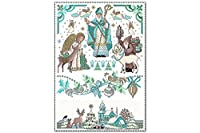 冷蔵庫用マグネット Fridge Magnet Santa Claus Lindner winter feelings