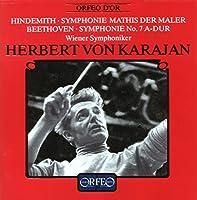 ヒンデミット:交響曲第7番イ長調 他 (Hindemith: Mathis der Maler, Beethoven: Symphony No.7)