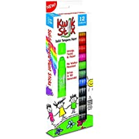 The Pencil Grip Kwik Stix Solid Tempera Paint, Super Quick Drying, 12 Pack (TPG-602) by The Pencil Grip Inc. [並行輸入品]